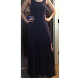 Gorgeous! Michael Kors Navy blue Maxi